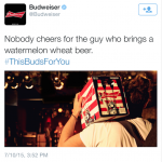 Bud-Tweet