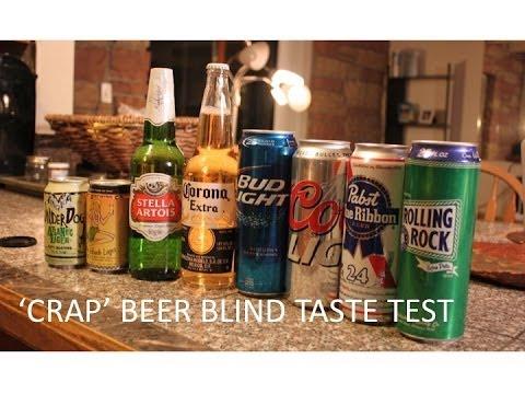 Bad Beer Blind Taste Test–Funny and Surprising